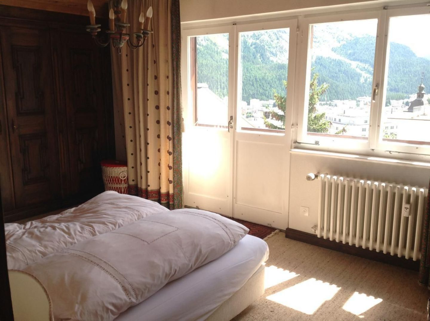 Apartment 100 metres from the heart of St. Moritz