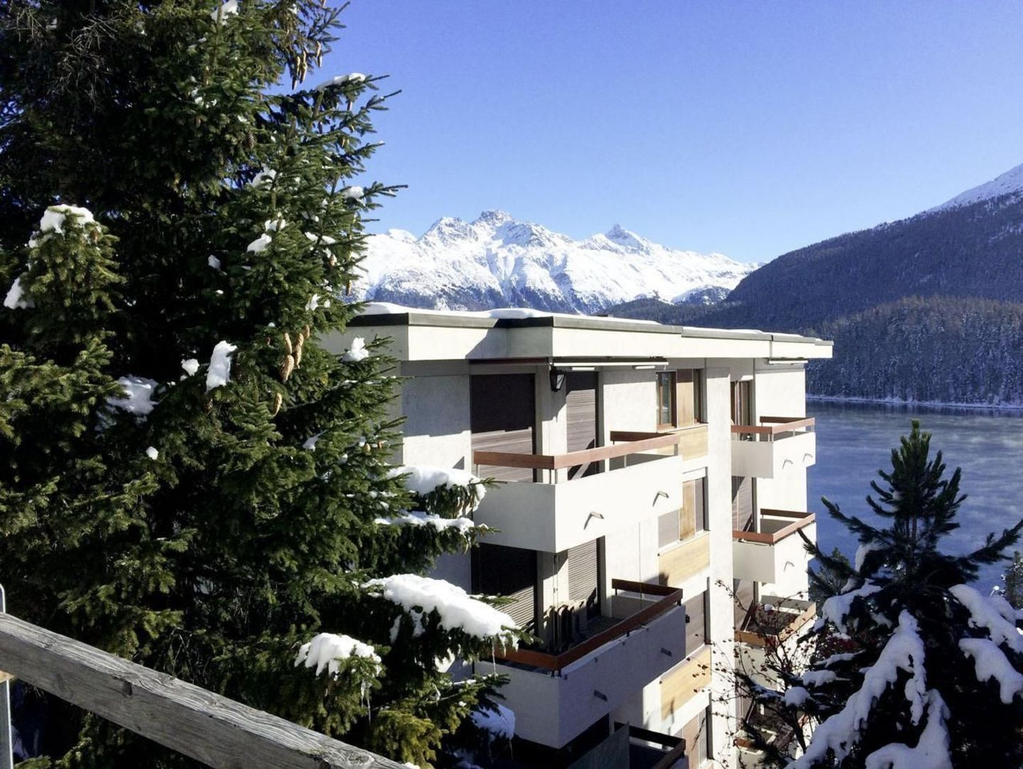 Residence in the lovely village of St. Moritz
