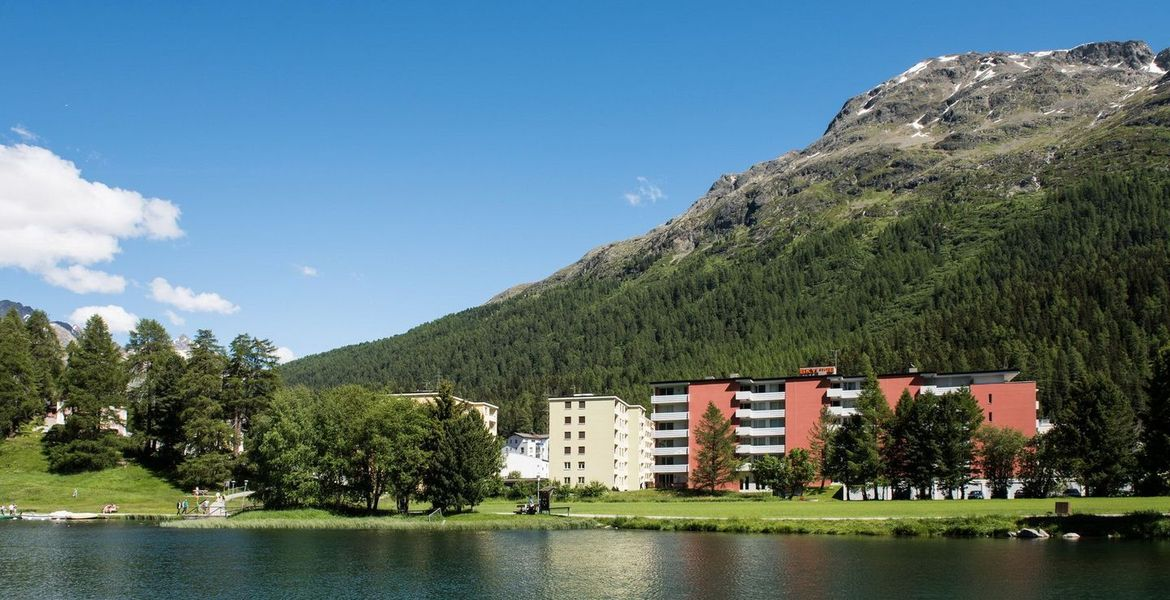Charmant appartement a St. Moritz Bad