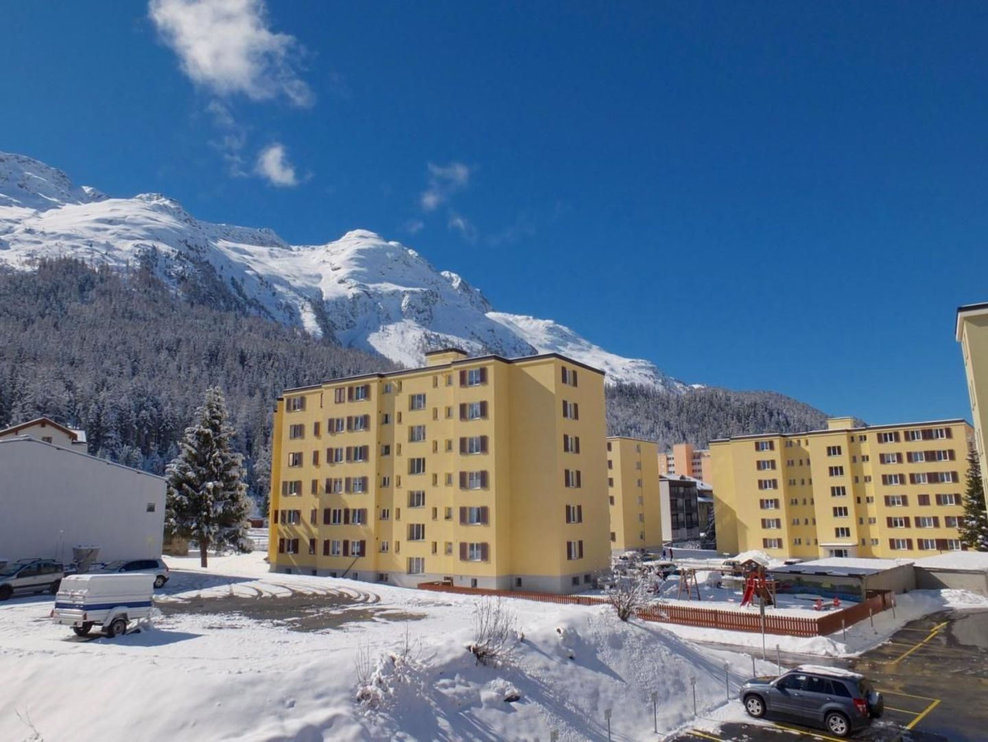 Location appartement à StMoritz