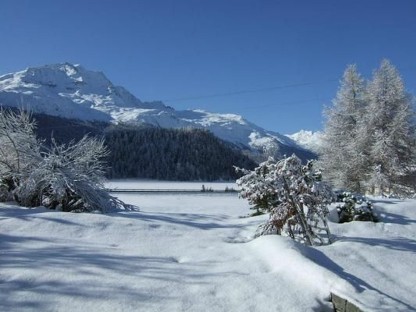 Large apartment for rent in St. Moritz.