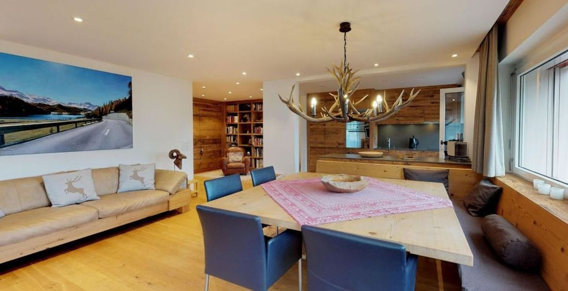 Apartment for rent in St. Moritz