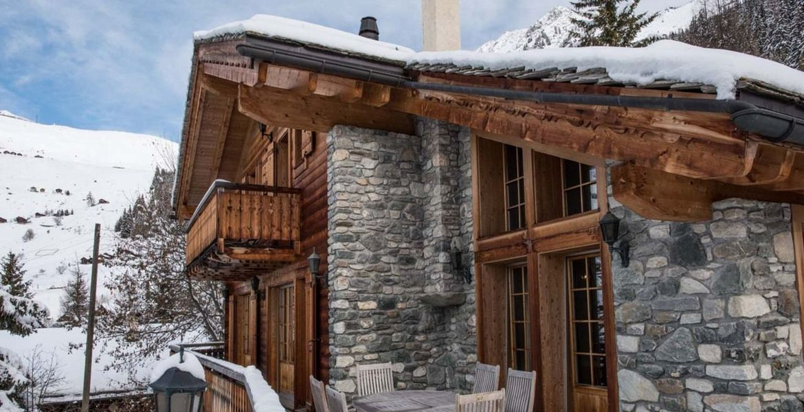 Switzerland Verbier Chalet