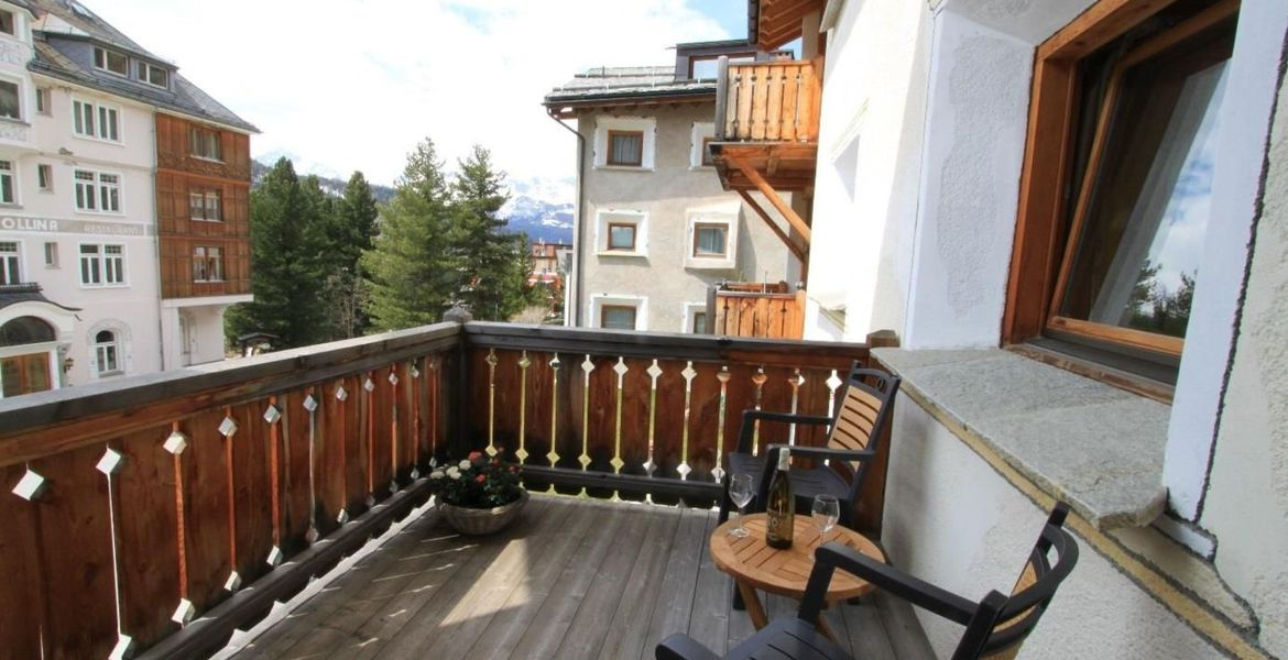 Rental newly build chalet located in Pontresina