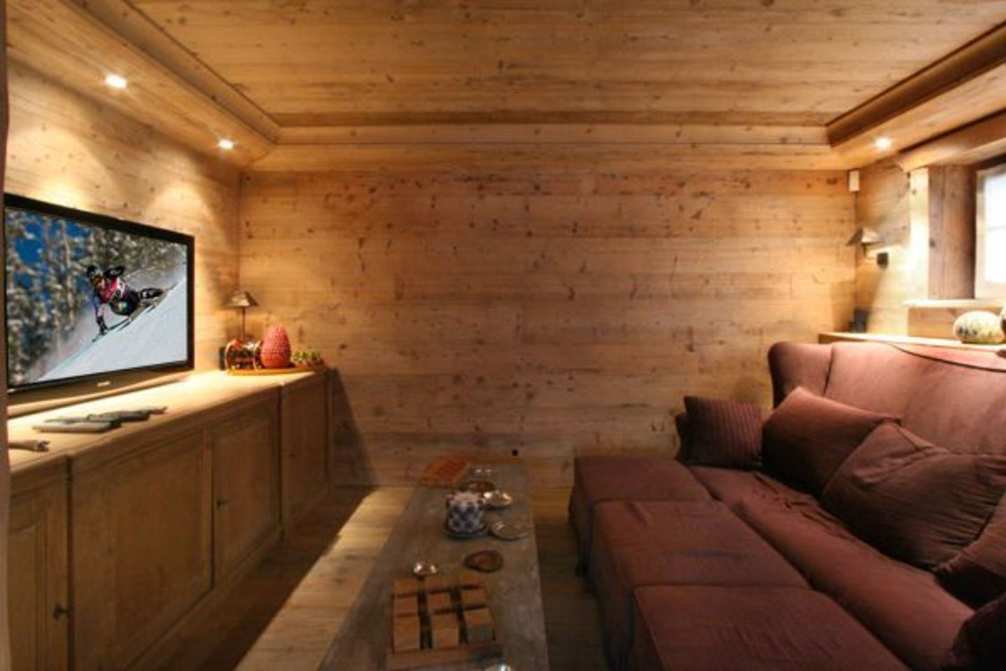 Luxury chalet for rent in St. Moritz