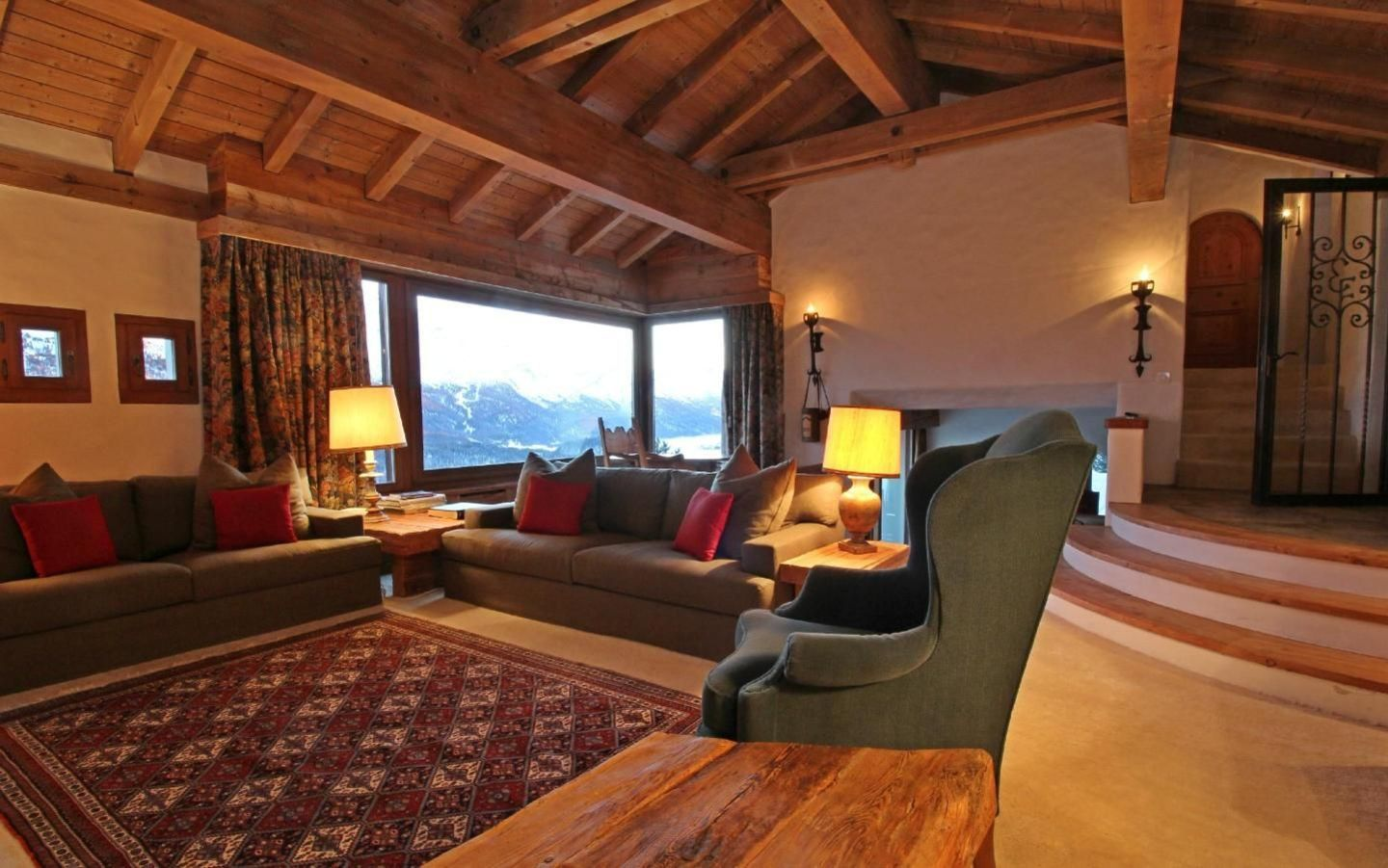 Villa in the exclusiv area of St.Moritz-Suvretta