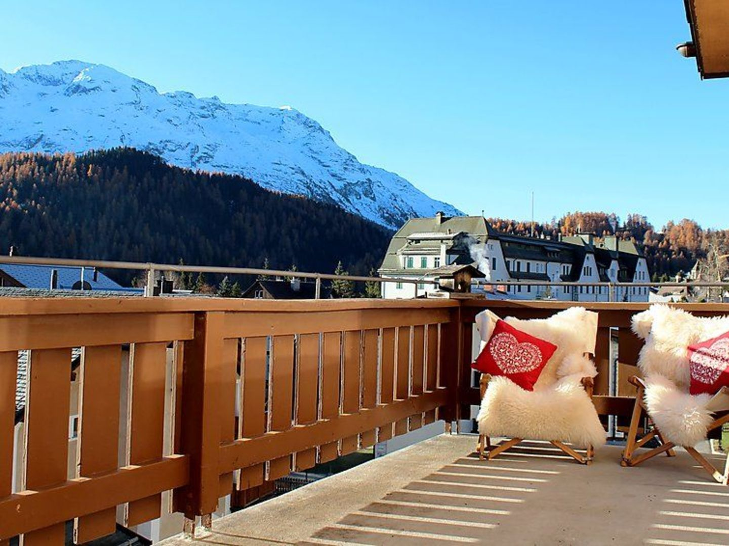 St. Moritz apartment for rent