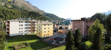 Apartment next to the lake in St. Moritz-Bad