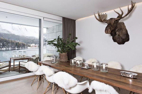 ST. MORITZ Location Appartement de luxe