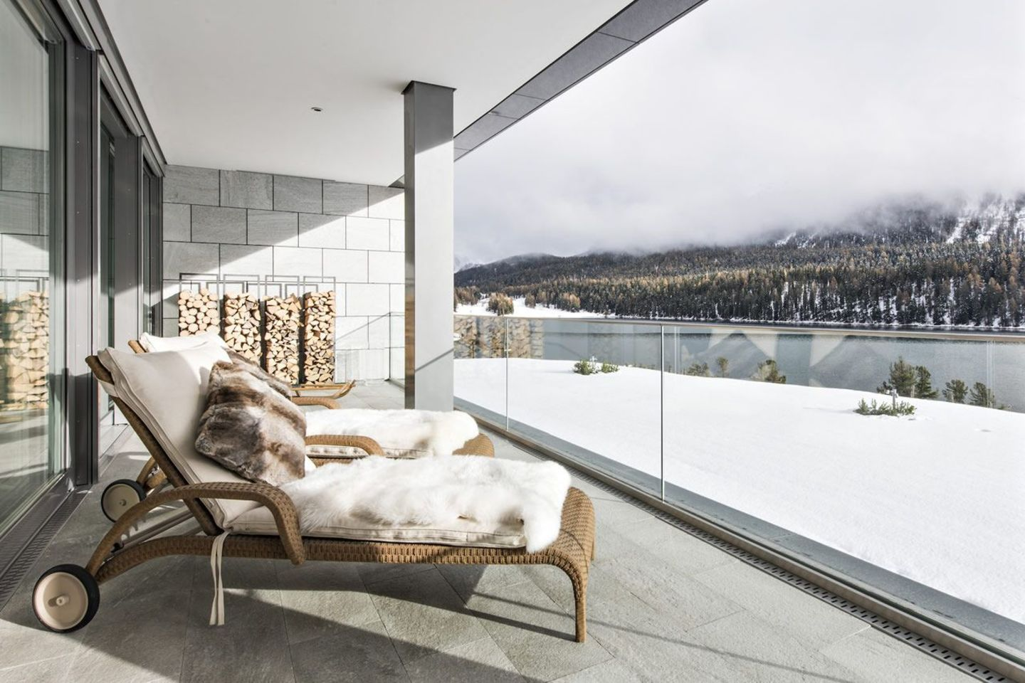 ST. MORITZ Rental Luxury apartment