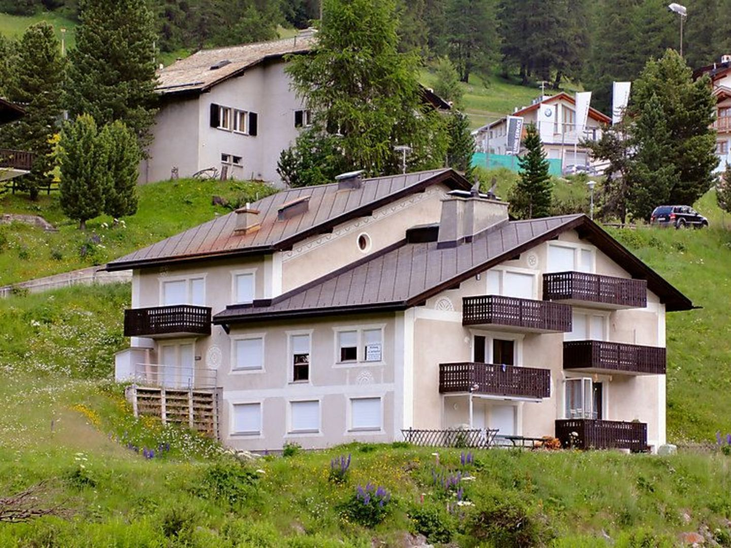 Chesa Pontresina for rent