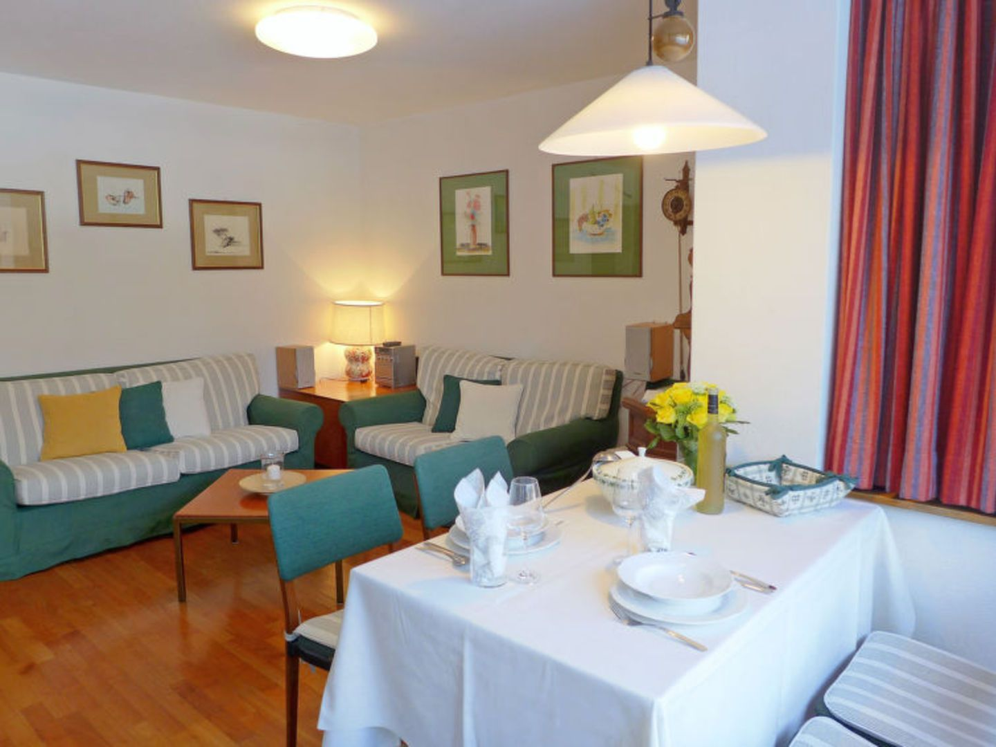 Nice and budget apartment for rent in St. Moritz Bad