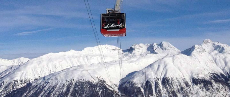 Ski Lift Pass St Moritz